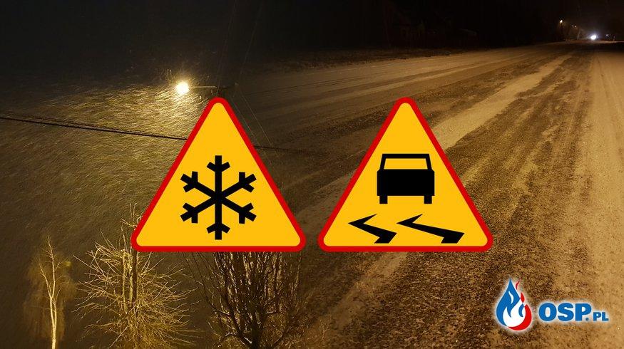 Zima przypuściła kolejny atak OSP Ochotnicza Straż Pożarna