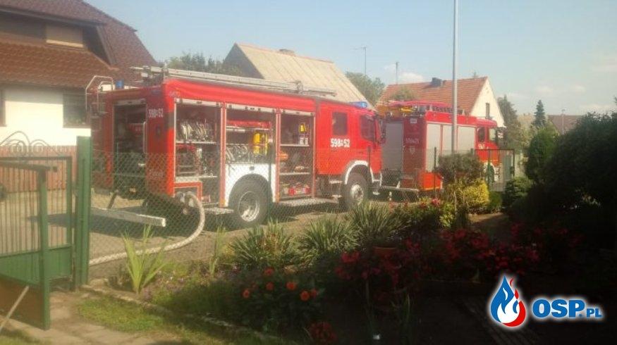 Wronki – pożar piwnicy OSP Ochotnicza Straż Pożarna