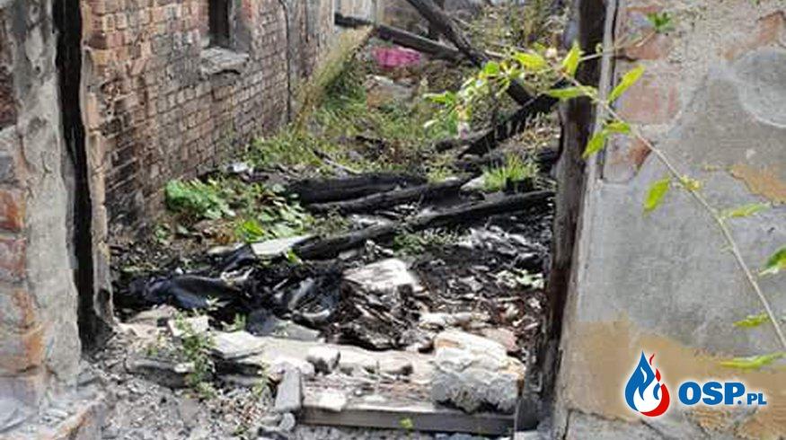 26.08- Pożar pustostanu OSP Ochotnicza Straż Pożarna