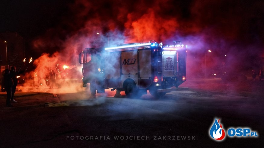 Nowy średni samochód ratowniczo-gaśniczy GBA 3/16 Iveco Eurocargo 150-320/MotoTruck OSP Ochotnicza Straż Pożarna