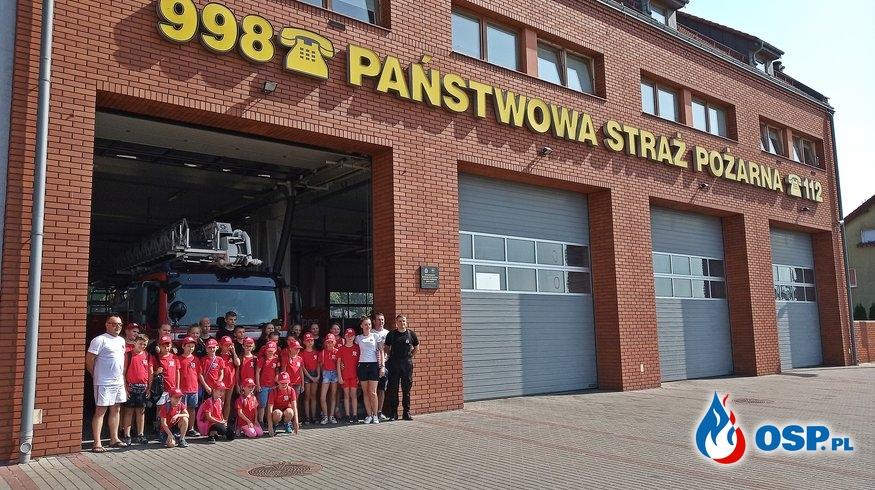 Odwiedziny u Słupeckich strażaków OSP Ochotnicza Straż Pożarna