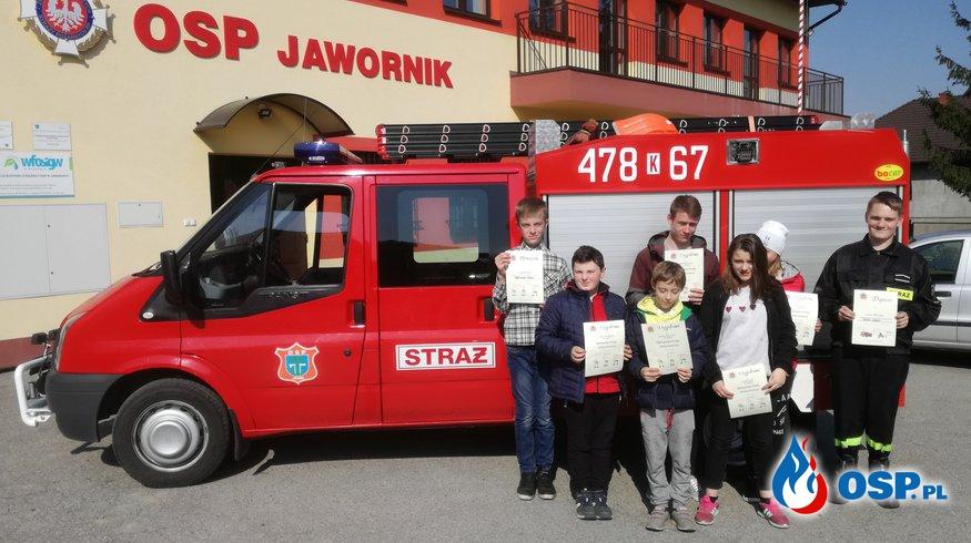 Młodzieżowe zmagania z wiedzą pożarniczą, czyli Turniej Wiedzy Pożarniczej OSP Ochotnicza Straż Pożarna