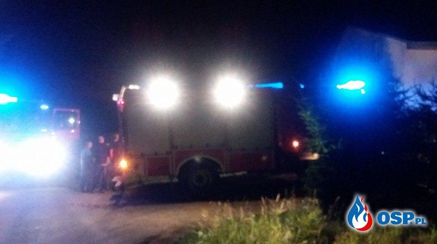 Pożar przewodu kominowego w Myczkowie OSP Ochotnicza Straż Pożarna
