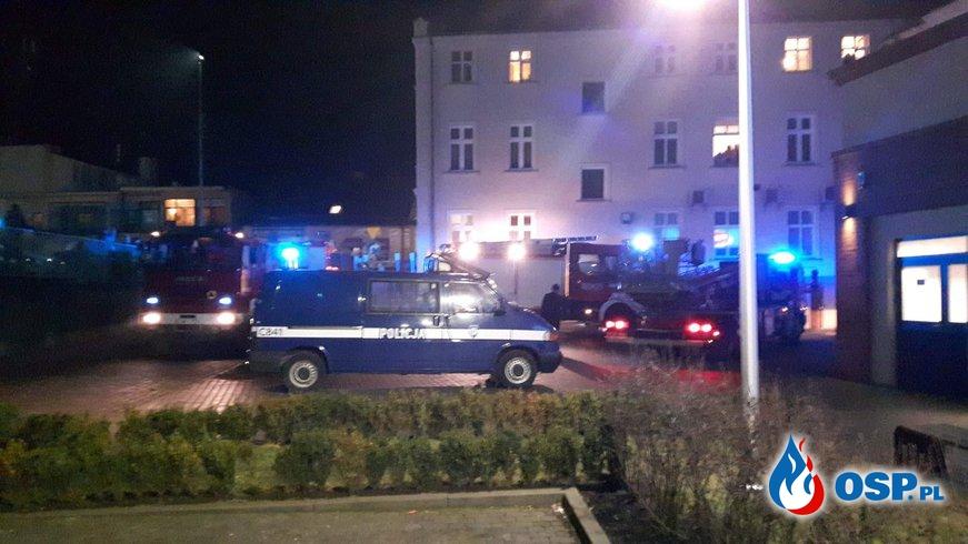 Pożar piwnicy budynku wielorodzinnego w Mogilnie OSP Ochotnicza Straż Pożarna