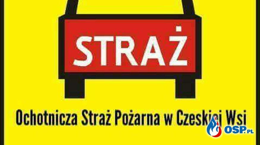 #14/2018 Pożar suchej trawy na PKP w Czeskiej Wsi OSP Ochotnicza Straż Pożarna