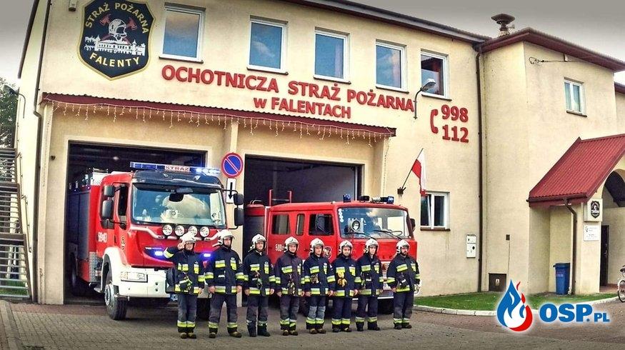 Strażak uratował życie swojemu ojcu-strażakowi. Pomogli koledzy i AED. OSP Ochotnicza Straż Pożarna