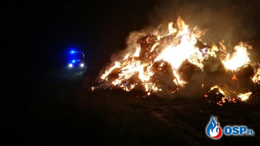 Nocny pożar w Gądnie OSP Ochotnicza Straż Pożarna