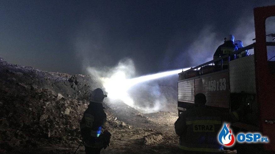 109/2020 Pożar dużego obornika OSP Ochotnicza Straż Pożarna