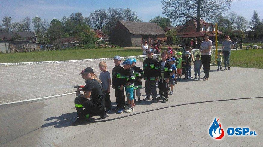 Przedszkolaki odwiedziły OSP  OSP Ochotnicza Straż Pożarna