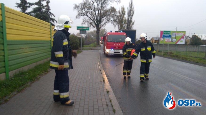 Neutralizacja substancji ropopochodnej OSP Ochotnicza Straż Pożarna