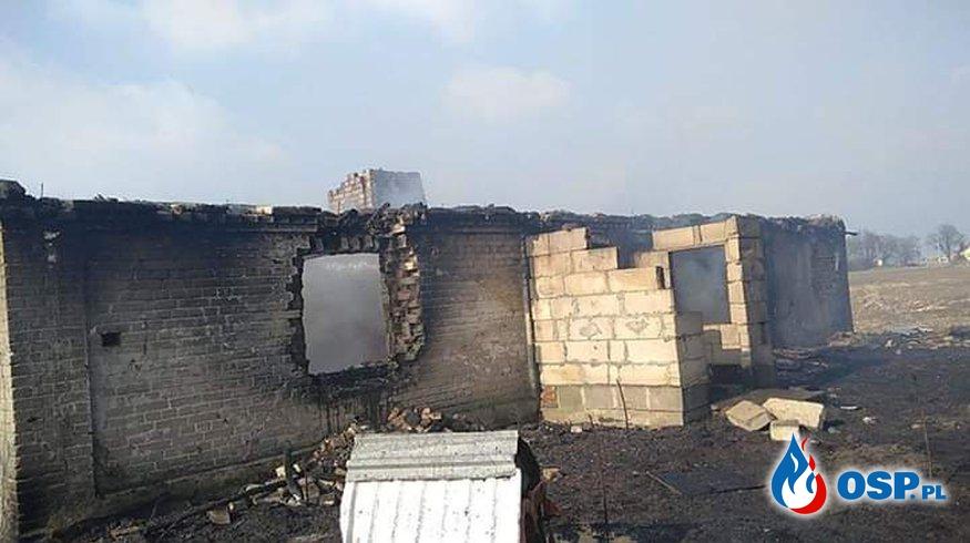 Pożar domu w miejscowości Makówiec! OSP Ochotnicza Straż Pożarna