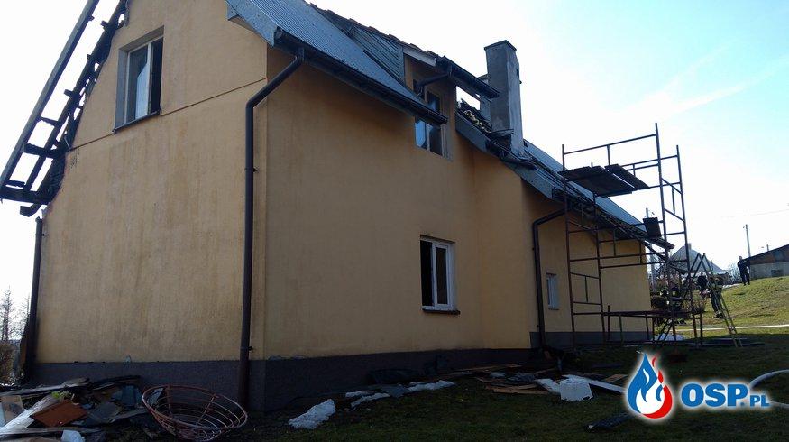 Pomóżmy pogorzelcom odbudować dom! OSP Ochotnicza Straż Pożarna