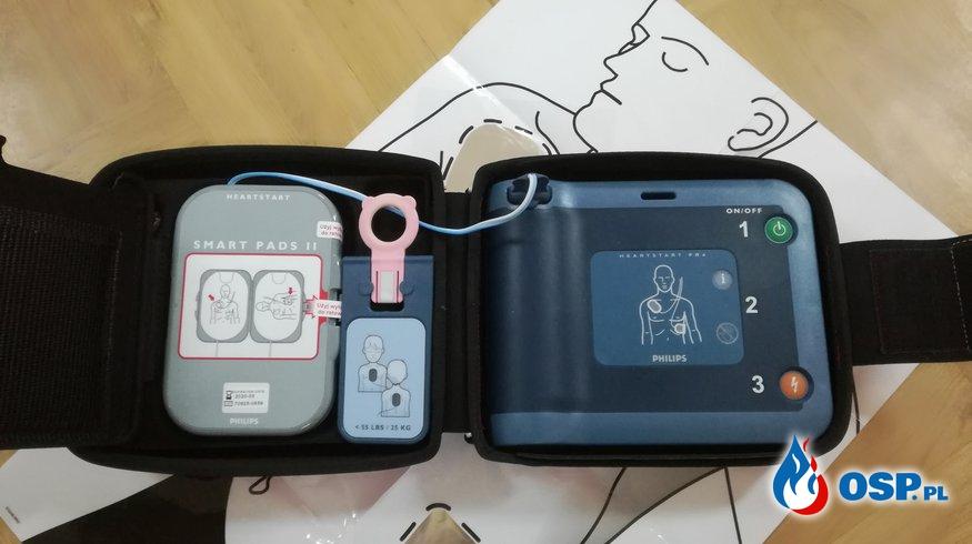 Urządzenie ratujące życie – AED OSP Ochotnicza Straż Pożarna