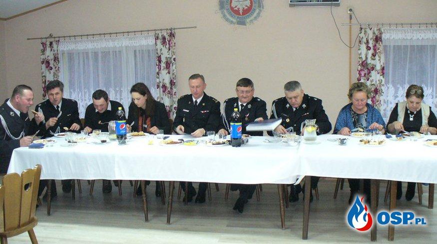 Walne Zebranie Sprawozdawcze naszejOSP OSP Ochotnicza Straż Pożarna