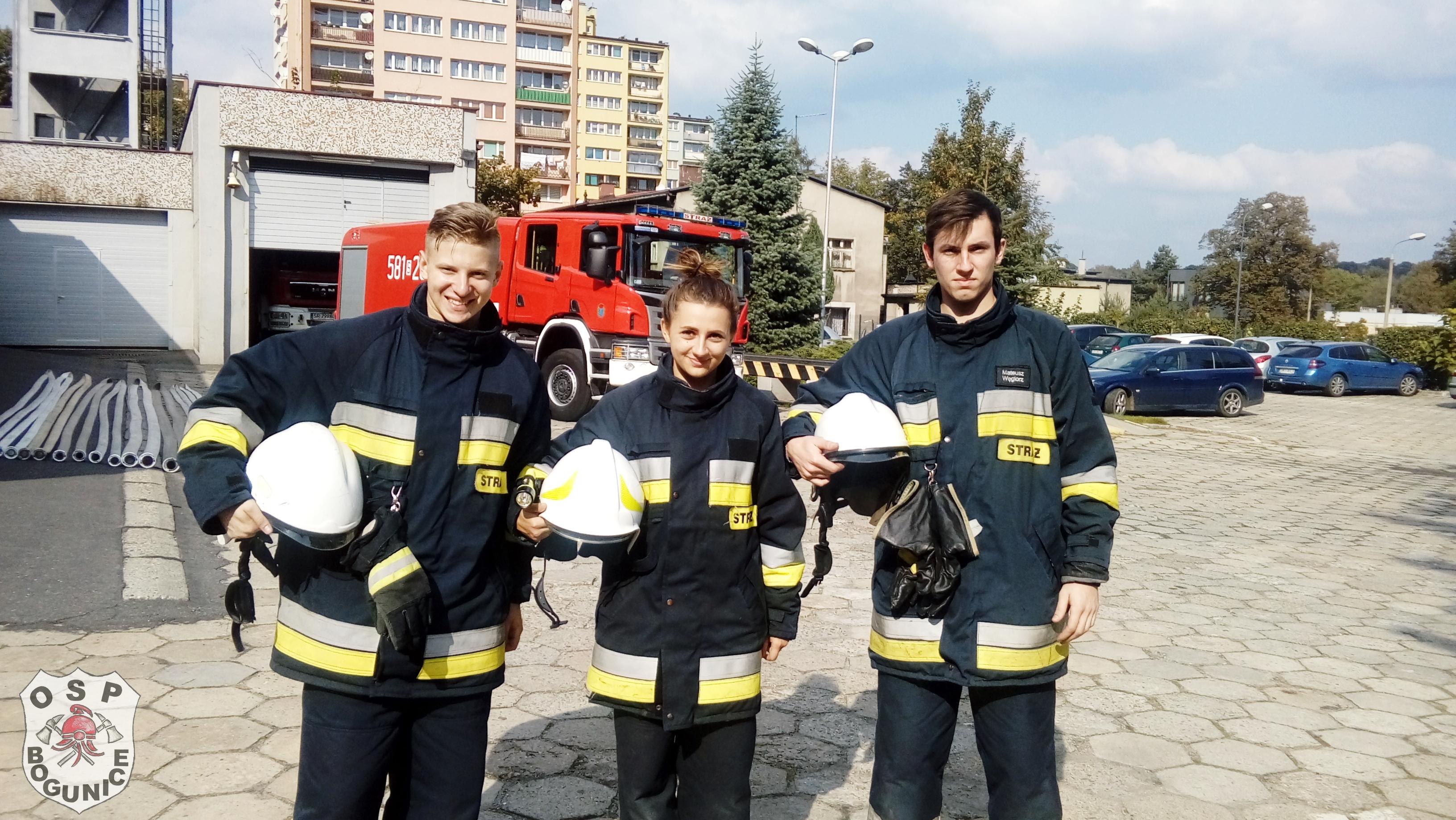 testy dla strażaków osp kurs podstawowy